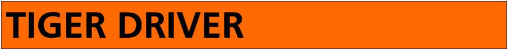 Tiger Driver